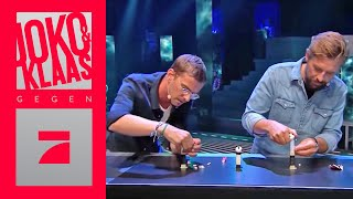 Horrorplakat oder 15 Minuten? 20m Fließband & 10 Aufgaben | Finale | Joko & Klaas gegen ProSieben