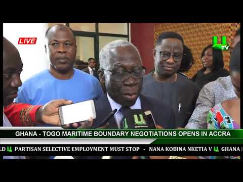 Ghana-Togo Maritime Boundary Negotiations Opens In, Accra