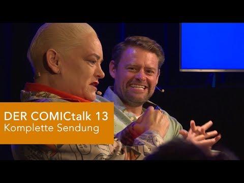 DER COMICtalk 13 - komplette Sendung (Hella von Sinnen, Max Giermann)