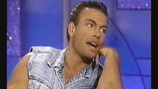Van Damme on Arsenio Hall (Universal Soldier) Part 1