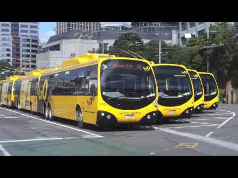 Wellington Trolleybuses  (SYSTEM TERMINATED -  31 OCTOBER 2017)