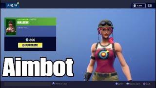 This skin is aimbot! Fortnite Item shp Nov 6 2018