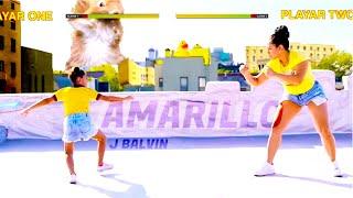 J balvin - Amarillo coreografía
