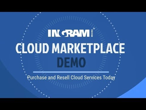 Ingram Micro Cloud Marketplace Demo