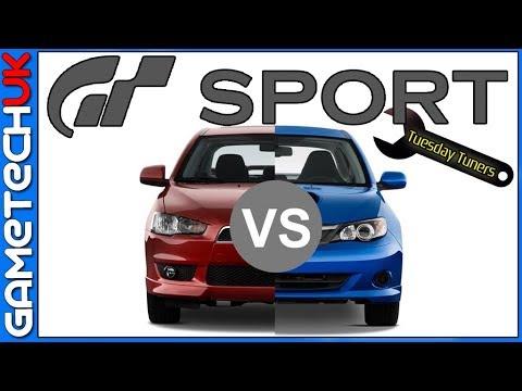 Gt Sport - Tuesday Tuner  -   BATTLE NIGHT!   -  WRX V's EVO