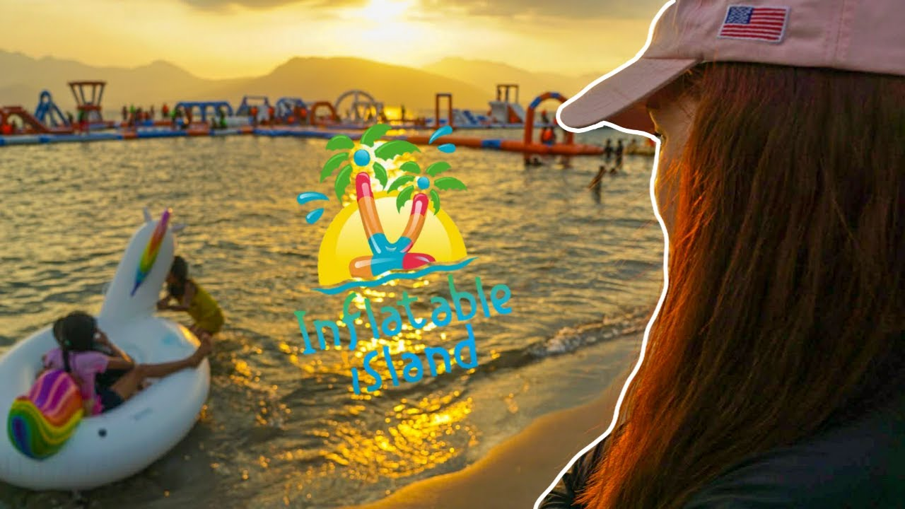 New Summer Destination! Subic's Inflatable Island (04/01/2017)
