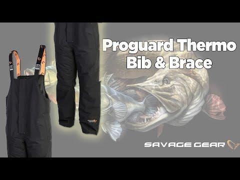 Glasgow Angling Centre | Savage Gear Proguard Thermo Bib & Brace
