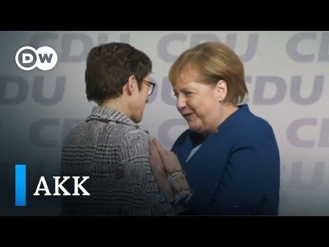 Triumph für AKK - Kramp-Karrenbauer ist CDU-Vorsitzende | DW Deutsch