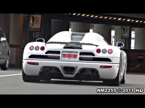 Koenigsegg CCX Full Throttle Accelerations and Revs!