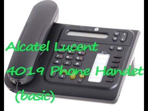 get it solution alcatel lucent ip touch 4008 4018 phone 4019 rh youtube com alcatel lucent telephone 4019 manual alcatel lucent 4019 manual portugues