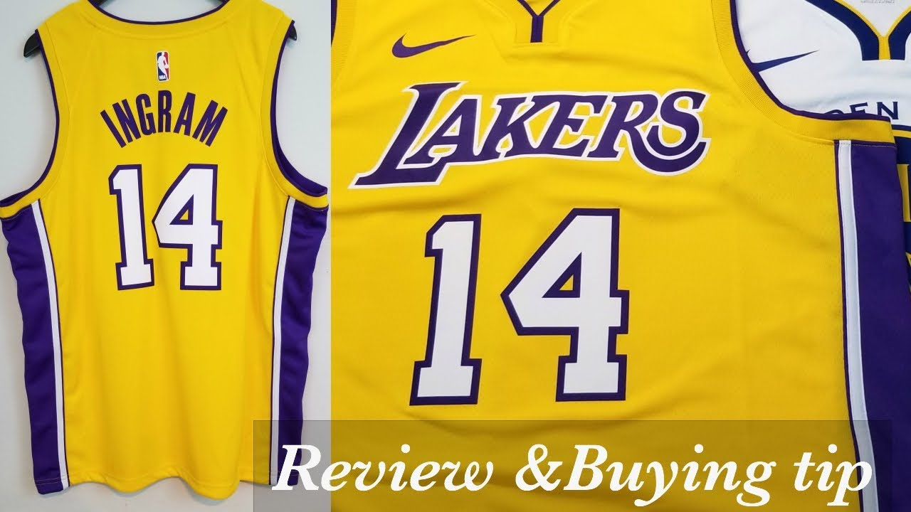 reputable site 05b80 d9332 Nike x NBA Los Angeles Lakers Swingman Icon Jersey Reveiw