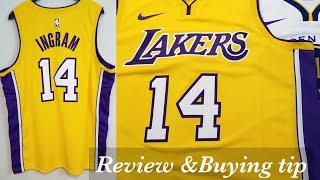 Nike x NBA Los Angeles Lakers Swingman Icon Jersey Reveiw