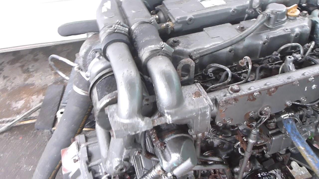 Yanmar 4JH-UTE Diesel Engine 110 HP Kanzaki transmission 3:1