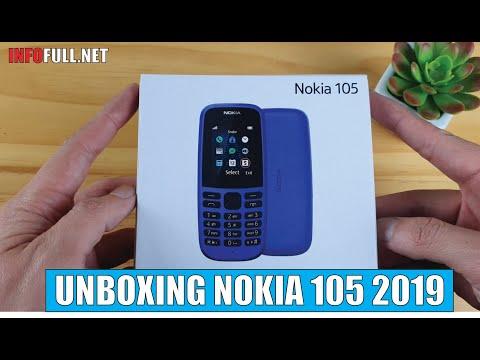 Nokia 105 2019 unboxing
