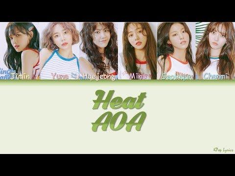 AOA (에이오에이) - Heat (Color Coded Lyrics) [HAN/ROM/ENG]