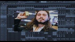 Free Full Remake Post Malone Rockstar (FL Studio Remake)FLP
