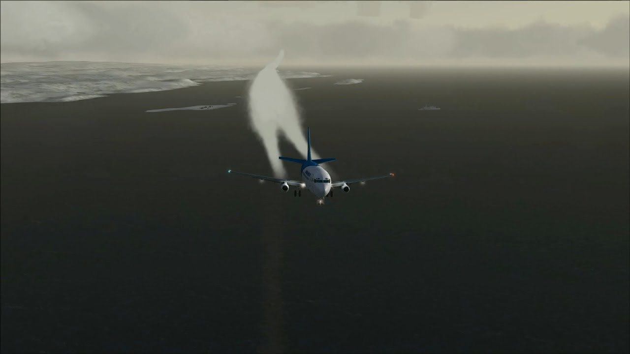 [FSX] Contrails at take off and landing