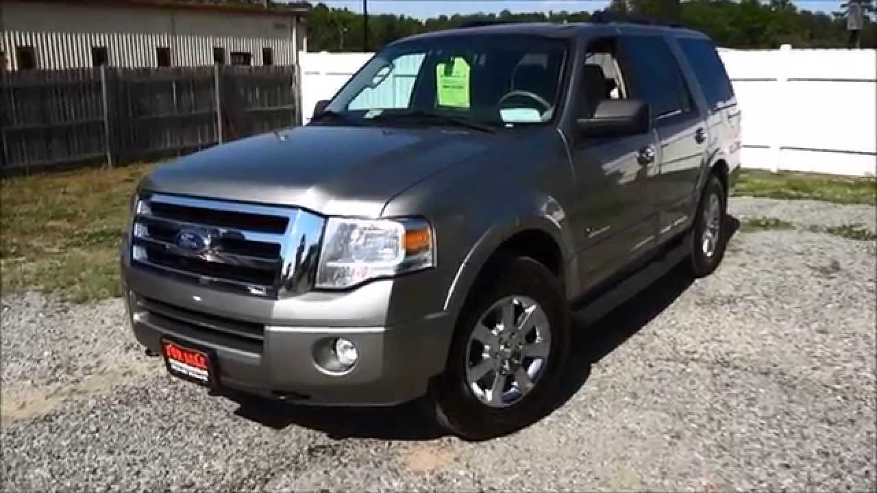 2008 ford expedition xlt walkaround start up tour and overview youtube