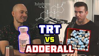 TRT Vs. Adderall PsychedSubstance & MPMD သည် Testosterone ဟော်မုန်းကိုသုံးသည်