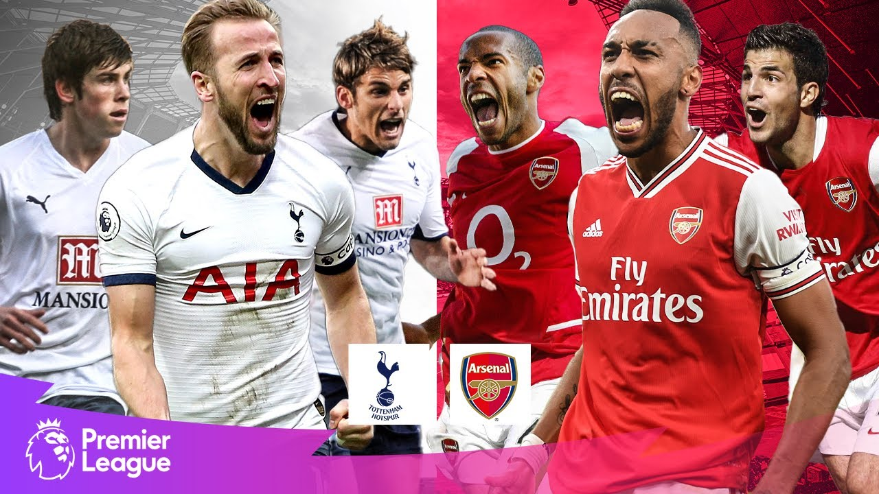 Tottenham Hotspur vs Arsenal | Classic Premier League Goals | Kane, Aubameyang, Bale