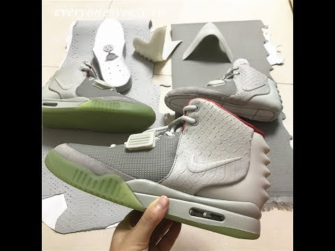 87d2ed56143b7 PK God Version Yeezy 2 Wolf Grey Pure Platinum Real Materials from  Beyourjordans CA