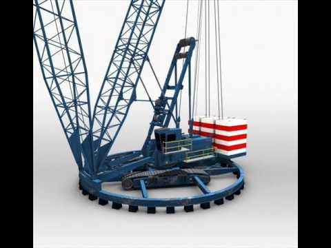 Crane 3D Model | Industrial 3D Models | max, 3ds, c4d, obj, lwo