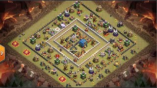 3 Star Every Ring Base ⭐️ TH12 ⭐️ GoBoWitchWalk ⭐️ Clash of Clans