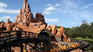 Big Thunder Mountain Railroad Complete Experience - Magic Kingdom Walt Disney World