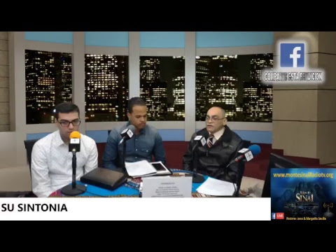 Monte Sinai Radio tv Sentado A L a Mesa Del PADRE 4/8/2018