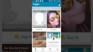 How to find girls in happen app (best dating app) screenshot 5