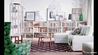 Книжные шкафы и библиотеки для дома - как выбрать и разместить правильно