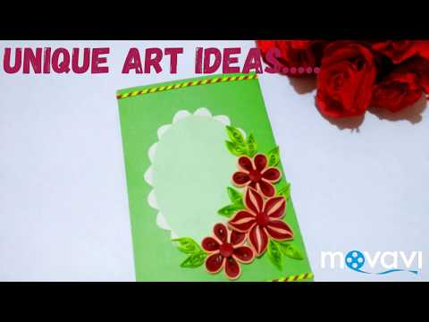 Easy quilling work by unique art ideas......