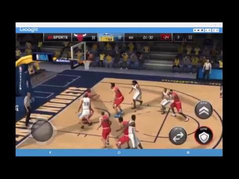 NBA Live Mobile Chicago Bulls vs. Denver Nuggets