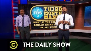 Third Month Mania - What Is the Greatest Donald Trump Tweet of All Time? Free HD Video