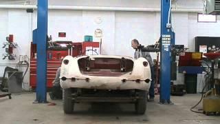 1960 Corvette - Body Removal
