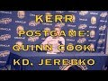Lagu Entire KERR postgame: Quinn Cook&39;s big game, starting Jerebko to space floor, Durant playmaking