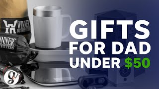 Great Gifts For Dad Under $50 | Amazon Gift Guide | Grateful