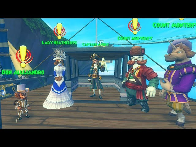 Pirate101: NEW Ambassador Quest from Avery!