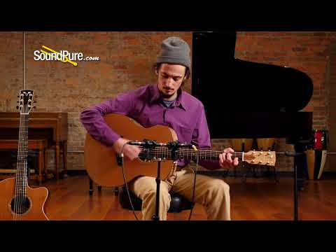 "Goodall ""Pacific Series"" Cedar/Curly Maple Acoustic #MCJ6624 Quick 'n' Dirty"
