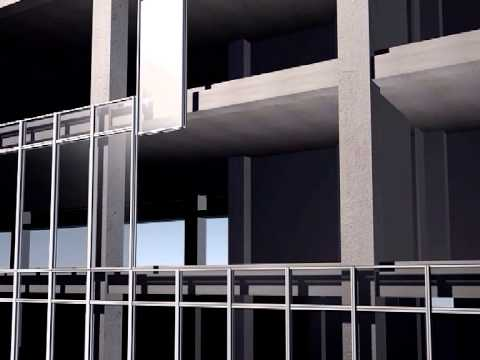 Unitized curtain wall fabricator