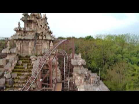 HD Roller Coaster - Disneyland Resort Paris Indiana Jones