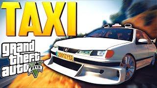 САМЫЙ ЛУЧШИЙ ТАКСИСТ   Реальная жизнь в GTA V