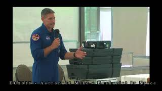 EC2018 - Astronaut Mike Hopkins - Eucharist in Space