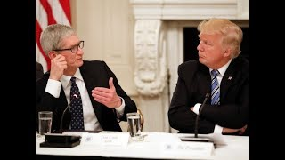 Ivanka Trump IPads Apple CEO Tim Cook The Wireless Agenda