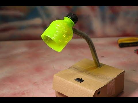 Make Homemade Table lamp For Student - DIY Student Life Hacks
