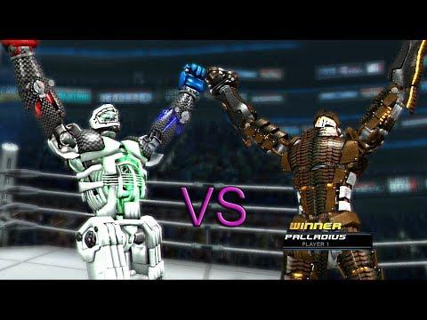 REAL STEEL THE VIDEO GAME-ONLINE + (PRISMA vs PALLADIUS) ЖИВАЯ СТАЛЬ