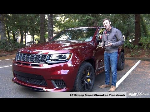 Review: 2018 Jeep Grand Cherokee Trackhawk