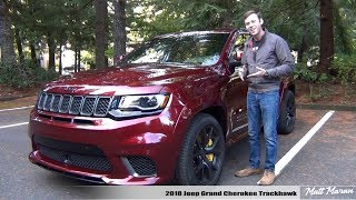 Review: 2018 Jeep Grand Cherokee Trackhawk