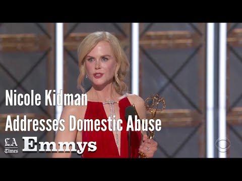 Nicole Kidman Addresses Domestic Abuse In Emmy Speech | Los Angeles Times