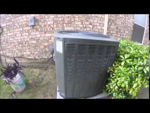 My Neighbor S New 2017 Trane Xr14 14 Seer 5 Ton Central Air Conditioner You